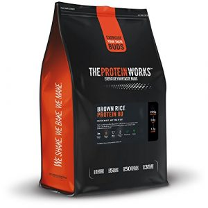 THE PROTEIN WORKS Protéine de Riz Brun 80, Nature, 500g