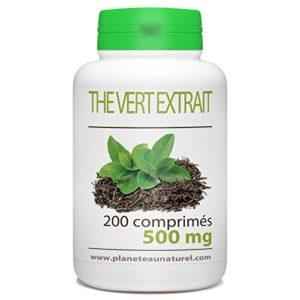 Thé Vert – 500 mg – 200 comprimés