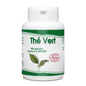 Thé Vert Bio – 250 mg – 100 gélules