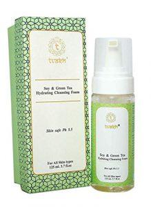 Tvakh soja et thé vert Hydratante Mousse Nettoyante 100 ml Haute sur les protéines (emballage peut varier)