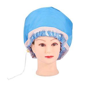 Vapeur thermique pour cheveux, Capuchon thermique pour cheveux à la maison Capuchon étanche pour soins capillaires avec contrôle de température à 3 modes Chapeau de soin nourrissant Idéal pour la mais