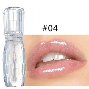 Vaycally Lip Gloss Lip Big Lips Multicolore Maquillage Transparent Hydratant Plumper Lip Gloss – Clear Lip Plump Gloss – Enhancer pour Fuller & hydrated lip- Renforcer les Lèvres Hydratées, Hydrater