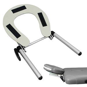 Vivezen ® Support têtière, appuie tête en aluminium pour table de massage – Norme CE