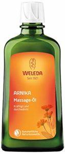 Weleda – huile de massage à l'arnica préparation et récupération sportives – 200 ml