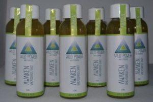 Wheatgrass alcalinisant – paquet de 7 x 60ml – Fournit de l'énergie – stimule les systèmes immunitaires et digestifs – Vitamines – Végétalien – Saveur de pomme et de poire de Wild Power Wheatgrass