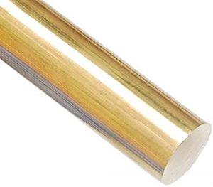 Wzqwzj Barre Ronde en Laiton pour soudage de Soudure, Longueur 500 mm, 20 mm à 16 mm Diamètres,16mm