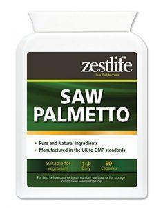 Zestlife PALMIER haute résistance -90 gélules   efficace pour prévenir et traiter les voies urinaires / PROSTATE TROUBLES / BPH.