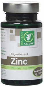 Zinc – 60 gélules – Boutique nature