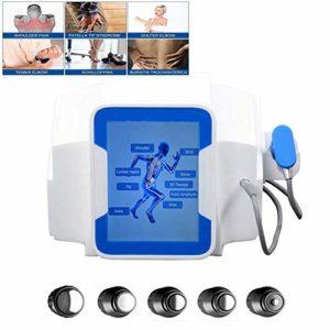 ZZYYZZ Machine Physique Professionnelle de thérapie de Douleur de système d'ondes de Choc pour Le Dispositif de Traitement pneumatique de Traitement d'ondes de Choc de soulagement de la Douleur Ed