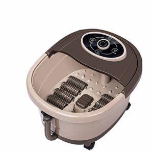 Audrly Roller Pieds Bassin Chauffant Pied Baignoire Pied Massage Machine Pied Spa Bain Massager Nous Brancher Multifonctions Entièrement Automatique Électrique