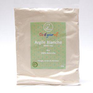 BALLA – Argile blanche en poudre Bio 100g