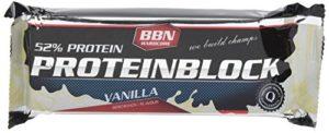 Best Body Nutrition Barre Nutritive Hardcore Protéine Block 15x90g barre Vanille