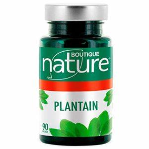 Boutique Nature – Complément Alimentaire – Plantain – 90 Gélules Végétales – Aide les voies respiratoires à se clarifier