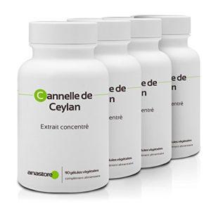 CANNELLE DE CEYLAN PACK 3+1 GRATUIT | 250 mg / 360 gélules | Fabriqué en France