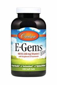Carlson – E-GEMS Elite 400 IU – 240 Gélules