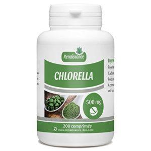 Chlorella – 500 mg -200 comprimés