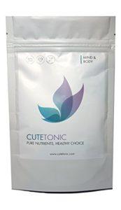 Cutetonic® Chlorella Organique 100% Pure Poudre (100g)