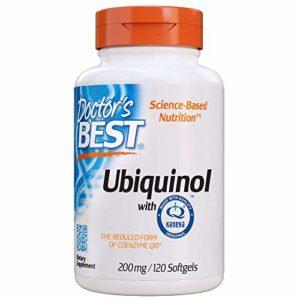 Doctor's Best, Best Ubiquinol, Avec QH Kaneka, 200 mg, 120 gélules