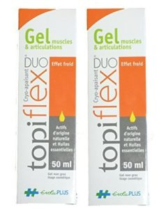 Evolupharm – Topiflex Duo Gel Muscle Articulation Tube 50 Ml – Lot de 2 Tubes