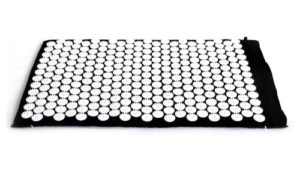 FA Sports YogiPlus ZhenBian + Matelas d'acupression 80 x 50 x 2,5 cm Noir