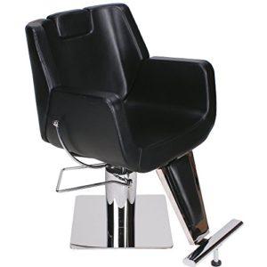 Fauteuil de barbier chaise salon de coiffure professionnel barbiers esthétique beauté 205456