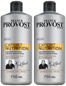 FRANCK PROVOST EXPERT NUTRITION Shampooing Professionnel Nutrition Intense 750.0 ml – Lot de 2