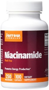 Jarrow Formulas – Niacineamide Flush Free 250 mg – 100 Capsules