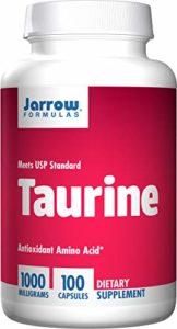 Jarrow Formulas Taurine 1000 – 1000mg x100caps – L-Taurine