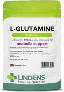 Lindens – L-Glutamine 500mg capsules – 90 pack