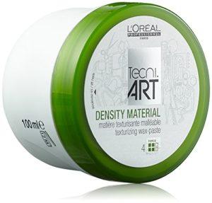 L'Oreal Professionnel – Cire pour Cheveux – Tenue Souple Finition Mat – Donnez Corps à vos Cheveux (Décoifé, Ebouriffé) – Play Ball Density Material – Texturising Wax-paste Pot – 100ml