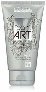 L'Oréal Professionnel – Gel Fibreux Structurant pour Cheveux – A-Head Glue New Tecni.art – 150ml