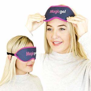 Masque pour les yeux Blépharite de MagicGel Haute Qualité Obtenir un soulagement durable de la douleur pour les yeux fatigués avec ce pack de gel doux et chaud