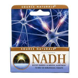 NADH 10 mg – Extrêmement forte – Augmente votre concentration