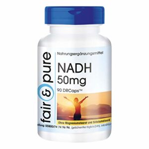 NADH 50mg – végan – 90 DRcaps™