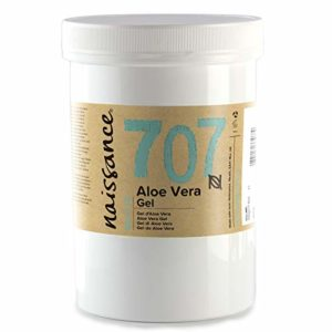 Naissance Gel d'Aloe Vera (n° 707) – 500g – vegan, non testé sur les animaux – apaisant et rafraîchissant pour la peau