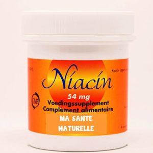 NIACINE 54 mg (vitamine B-3) – 90 capsules végétales