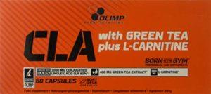 Olimp Sport Nutrition CLA avec The Vert Plus L-Carnitine Sport Edition 60 Capsules