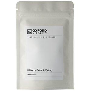 Oxford Vitality – Comprimés Myrtille Extra 4000mg