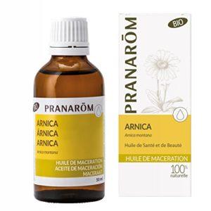 Pranarôm – Arnica Bio (Eco) – Huile Végétale – Huile Précieuse – Extrait Lipidique Titré de Fleurs D'Arnica – 50 ml