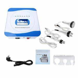 Qkiss 3 dans 1 machine de beauté RF pour usage domestique Machine de beauté à ultrasons pour le rajeunissement de la peau équipement de beauté pour le blanchiment et les soins de la peau(UE)