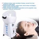 Qkiss Cheveux Vapeur Professional pour SPA, Instrument de Physiothérapie Photonique Vapeur à Cheveux pour Cheveux Naturels 30 Minutes de Vapeur Débouche les Pores Cheveux Traitement Outil(EU)