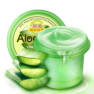 Someas Natural Pure Aloe Vera Gel Hydratant Anti-Acne Supprimer Acne Nourish Creme Blanchissant Reparations Sunburn 120g