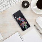 Suhctup Coque Compatible pour OnePlus 5 Transparente en Silicone,Étui en Souple TPU Motif Animale Ultra Fine Antichoc de Protection Housse Bumper Case Cover pour OnePlus 5,A17