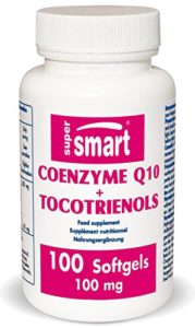 Supersmart – Cardio-vasculaire – Coenzyme Q10+ Tocotrienols 100 mg – 100 softgels