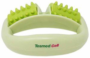 Tesmed Cell – Masseur anticellulite – Éliminez la cellulite grâce aux rouleaux brevetés – Des résultats possibles déjà après une seule semaine