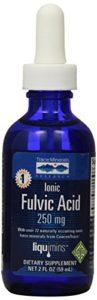 Trace Minerals Research Liquimins 250mg ionique Acide Fulvique avec Concentrace liquide 59ml