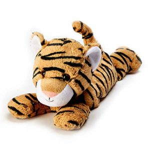 Warmies Peluche passant entièrement au micro-ondes Parfum lavande Tigre