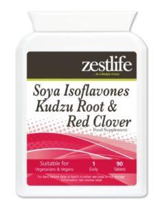 Zestlife isoflavones de soja Kudzu racine et de trèfle rouge – 90 comprimés