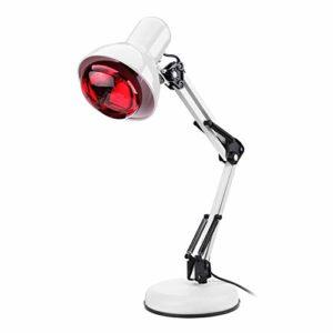 100W Infra-rouge Physiothérapie Lampe,Lampe Infrarouge Flexible Pour La Thermothérapie,Soulagement Rapide de La Douleur Musculaire