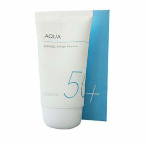 All around Safe Block – Aqua Sun Gel – SPF50+ / PA ++++ – Soin du visage – Missha